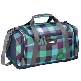 Coocazoo SporterPorter II torba na ramię 42 cm / sportowa / Green Purple District