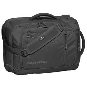 "Eagle Creek Straight Up Brief RFID torba na ramię / plecak na laptopa 17"" / Black"