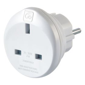 Go Travel DG/524 adapter sieciowy z UK do EU