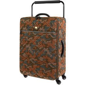 IT Luggage World's Lightest Quilted Camo średnia walizka M+