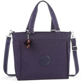 Kipling NEW SHOPPER L torba damska na ramię / Blue Purple