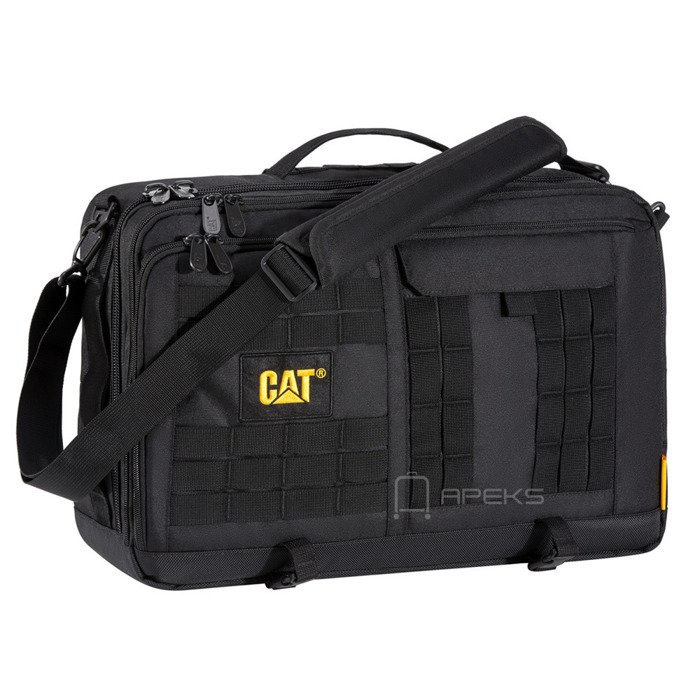 Caterpillar Combat torba na ramię / plecak na laptopa 15,6'' CAT / Black
