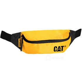 Caterpillar The Project saszetka biodrowa / nerka CAT / Black / Yellow