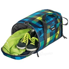 Coocazoo SporterPorter II torba na ramię 42 cm / sportowa / Lime District