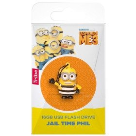 TRIBE Minionki Jail Time Phil pamięć przenośna Flash USB Pendrive 16 GB
